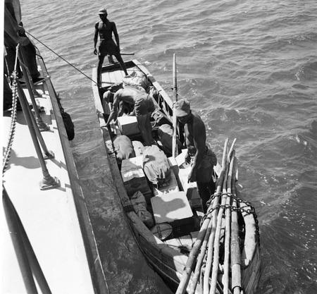 Crew Loading the Bongo