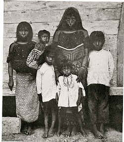 Cuna Indian Women and Children