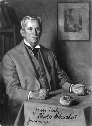 Painting of Charles Schuchert