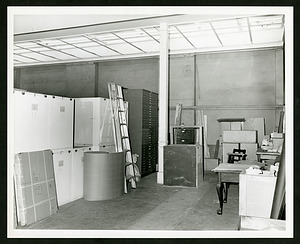 Arts & Industries Building, 1st floor, South East Court (Wood Court), south bay looking east