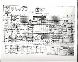 Museum of History and Technology architectural drawing, 6th floor