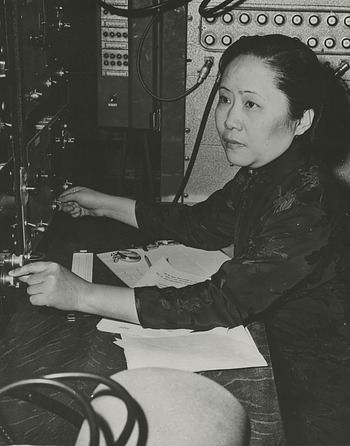 Chien-shiung Wu (1912-1997), Smithsonian Institution Archives, SIA Acc. 90-105 [SIA2010-1509].