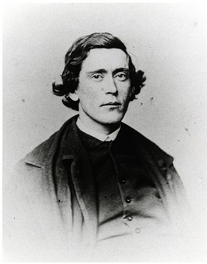 Portrait of Robert Kennicott, by Unknown, c.1860, Smithsonian Archives - History Div, SIA2010-1593.