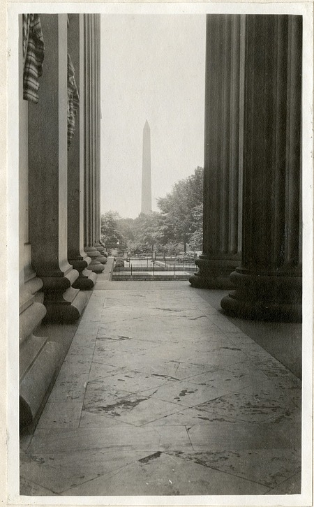 Washington Monument, 1919, Smithsonian Institution Archives, SIA RU007355 [SIA2010-2044].