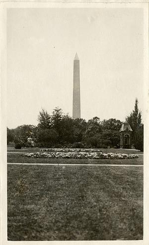 Washington Monument, 1919, Smithsonian Institution Archives, SIA RU007355 [SIA2010-2045].