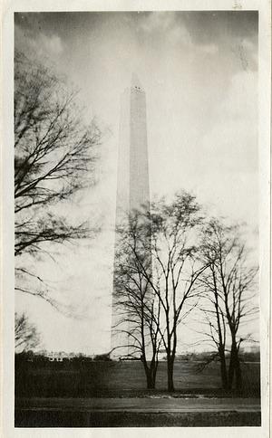 Washington Monument, 1919, Smithsonian Institution Archives, SIA RU007355 [SIA2010-2046].