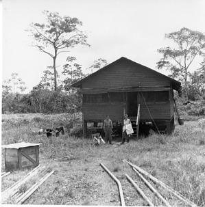 Guedén and Bea Wetmore at Mandinga
