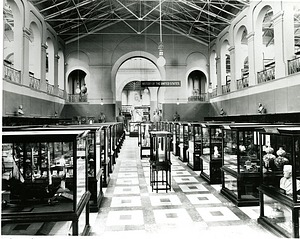 Arts and Industries Building, U.S. History Exhibits, North Hall