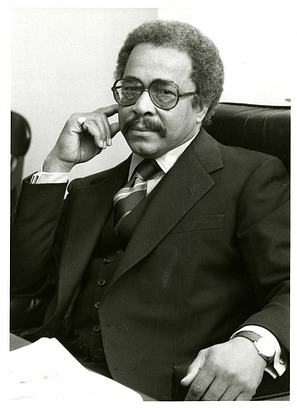 Julian T. Euell, by Unknown, c. 1980, Smithsonian Archives - History Div, SIA2010-3015.