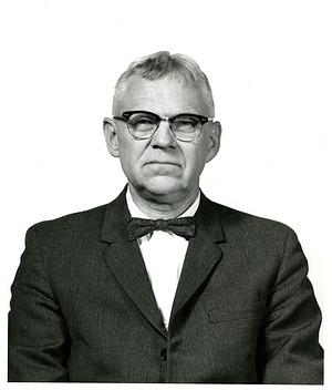 Leonard P. Schultz, c. 1968, Smithsonian Archives - History Div, SIA2010-3056.