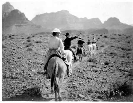 On the March in the Grand Canyon 05/02/1903