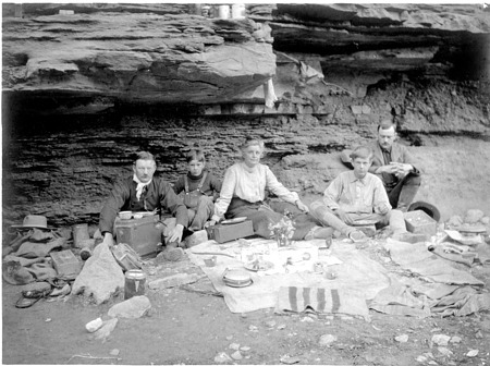 In the Grand Canyon, Arizona, May 1903