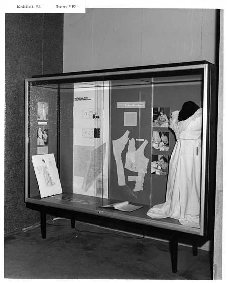 January 1972 Exhibit of the Month Case