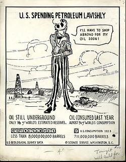 "Cartoonograph #50: ""U.S. Spending Petroleum Lavishly"""