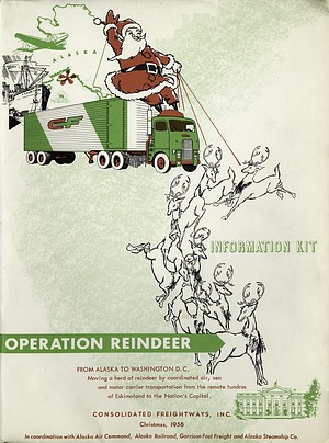 Cover of the Operation Reindeer Packet