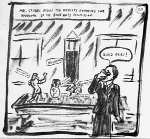 Cartoon Drawing for Burns Archer Stubbs' Retirement, by James Cahill