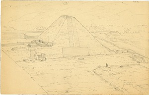 Topographic Sketch of Copan, Honduras