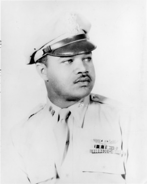 Louis R. Purnell in Airman Uniform