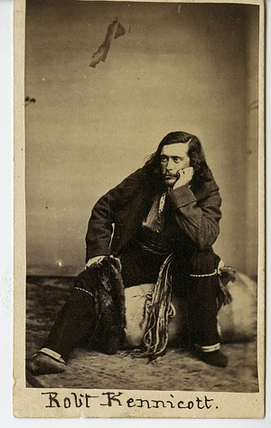 Robert Kennicott, Explorer, in Field Outfit