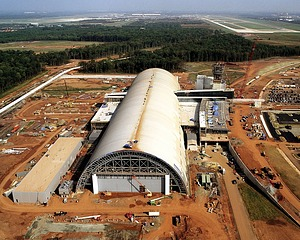Steven F. Udvar-Hazy Center Under Construction