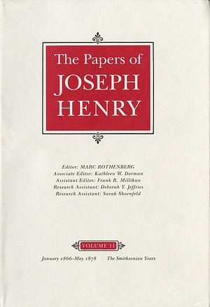 Cover of Joseph Henry Paper's Vol. 11