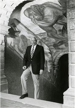 David McCullough at Orozco Murals