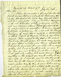Letter from Samuel Morse and Alfred Vail to Joseph Henry, July 22, 1846