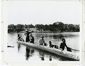 William and Lucy Mann in Liberia