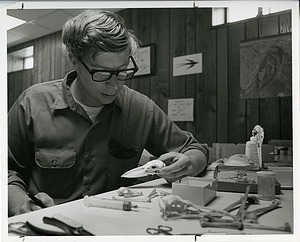Storrs Olson, by Unknown, 1969, Smithsonian Archives - History Div, SIA2011-1096 and 94-2478.