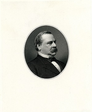 Grover Cleveland Engraving