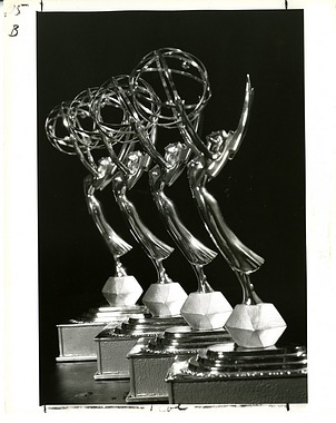 "Four Emmy Statuettes awarded for the Smithsonian Film ""Celebrating a Century"""