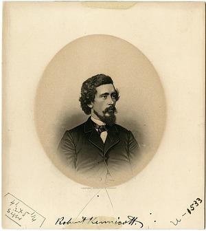 Engraving of Robert Kennicott, C. 1860s, Smithsonian Archives - History Div, SIA2011-1226.