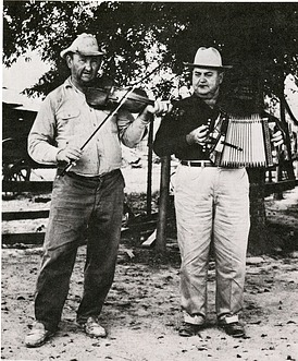 Cajun Musicians at the First Folklife Festival