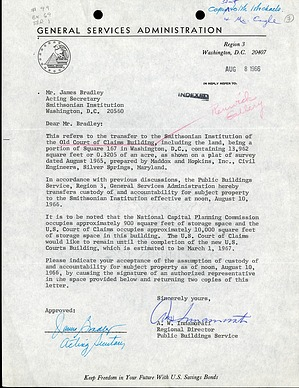 Letter A. W. Innamorati to James Bradley, August 8, 1966, Page 1 of 1