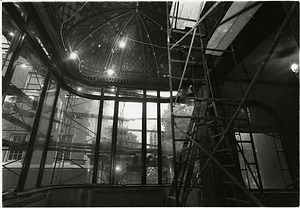 Conservatory in Carnegie Mansion Under Renovation