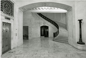 Interior of Alexander Hamilton Customs House with Staircase