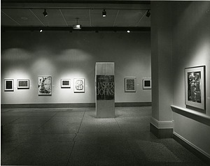 "Exhibit Space for ""Drawings by Jasper Johns"""