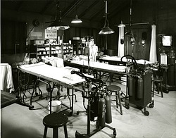 MASH Operating Room in the National Museum of American History