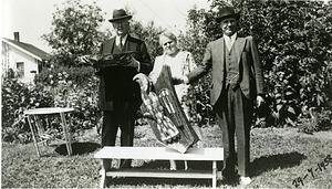 G. G. Heye Holding Bella Coola Dish
