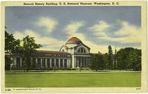 Postcard of the Natural History Building