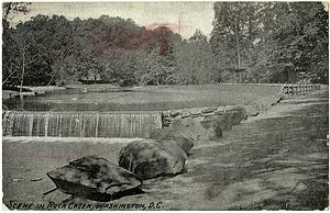 Postcard of Rock Creek Park
