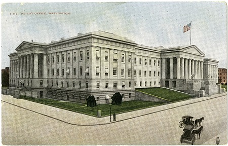 Postcard of the Patent Office