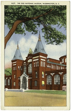 Postcard of the Old National Museum