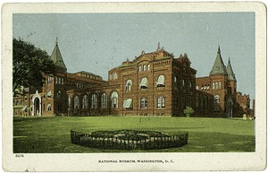 Postcard of the National Museum