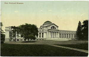 Postcard of the New National Museum