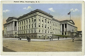 Postcard of the Patent Office Building