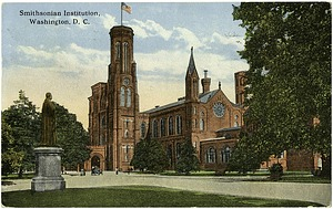 Postcard of the Smithsonian Castle