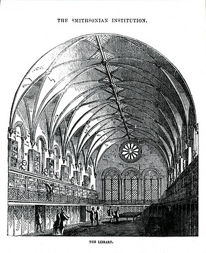 Library in the Smithsonian Institution Building