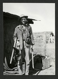 Wetmore at Riacho Pilaga, Argentina, 1920