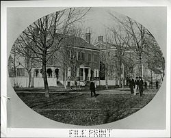 Joseph Henry's Home in Princeton, New Jersey